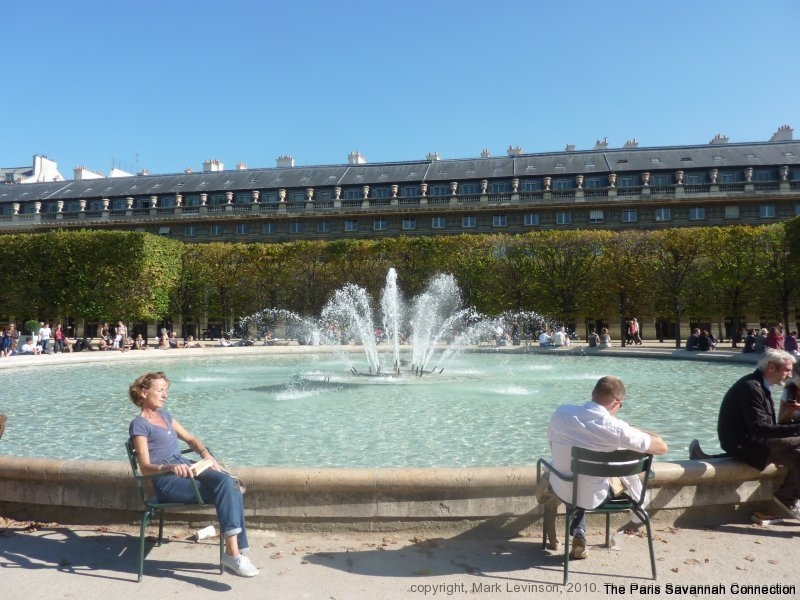 Sunday at the Palais Royal - 10 10 10