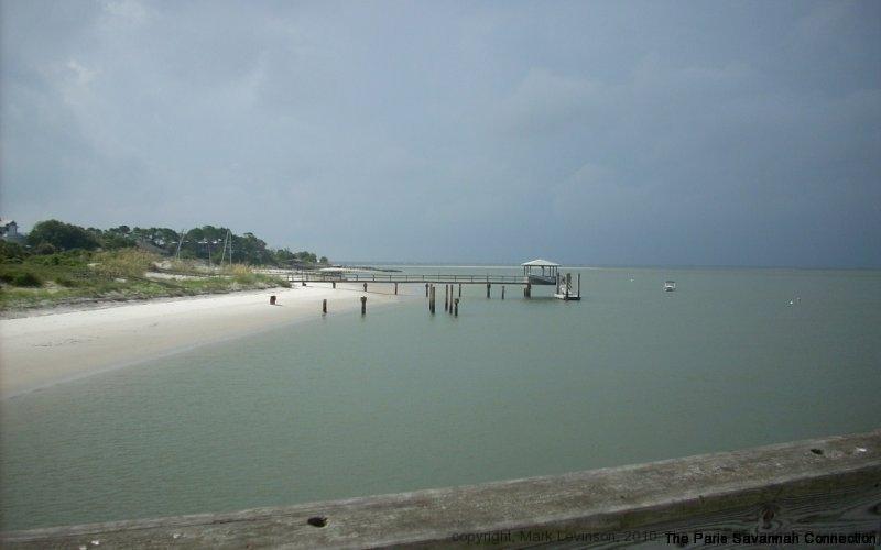 back river & pier