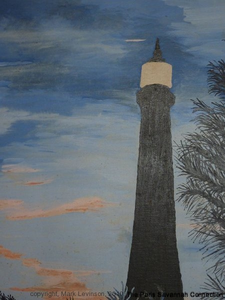 painting of tybee Lighthouse